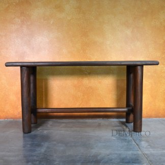 Consola Madero, Mesquite Console Table, Spanish Console Table