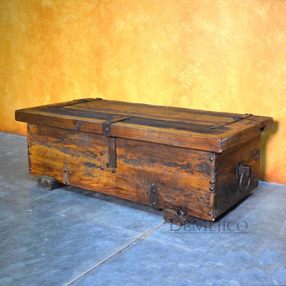 troje trunk coffee table storage