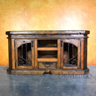 Lucia TV Stand, Old World Entertainment Center