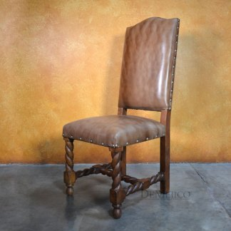 Silla Chapital Especial - Spanish Dining Chairs, Spanish Leather Chairs