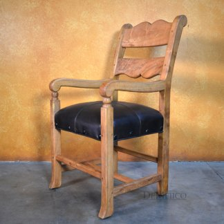 Spanish Ladder Back Chair, Silla Circa Doble Respaldo