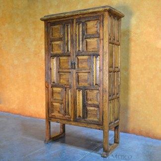 Hacienda Panel Armoire, Rustic Armoire, Tall Armoire, Rustic Modern Armoire