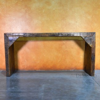 Consola Grappa, Old Wood Console Table, Farmhouse Style