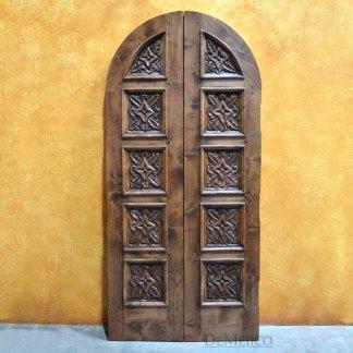 Closet Puerta Hoja, Carved Interior Doors, Custom Closet Doors
