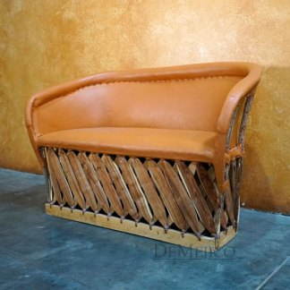 Equipal Bench, Spanish Style Seating, Mexican Lounge Chair