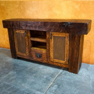 Vigas Buffet, Rustic Wood BuffetTable