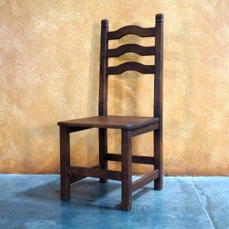 Spanish Wood Ladder Chair, Silla Teco