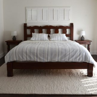 Old Mexico Bed, Spanish Bed, Hand Carved Bed