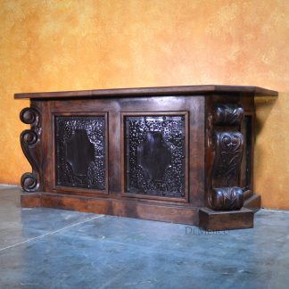 Escritorio Antigua Especial, Custom Wood Desk, Spanish Desk - Demejico