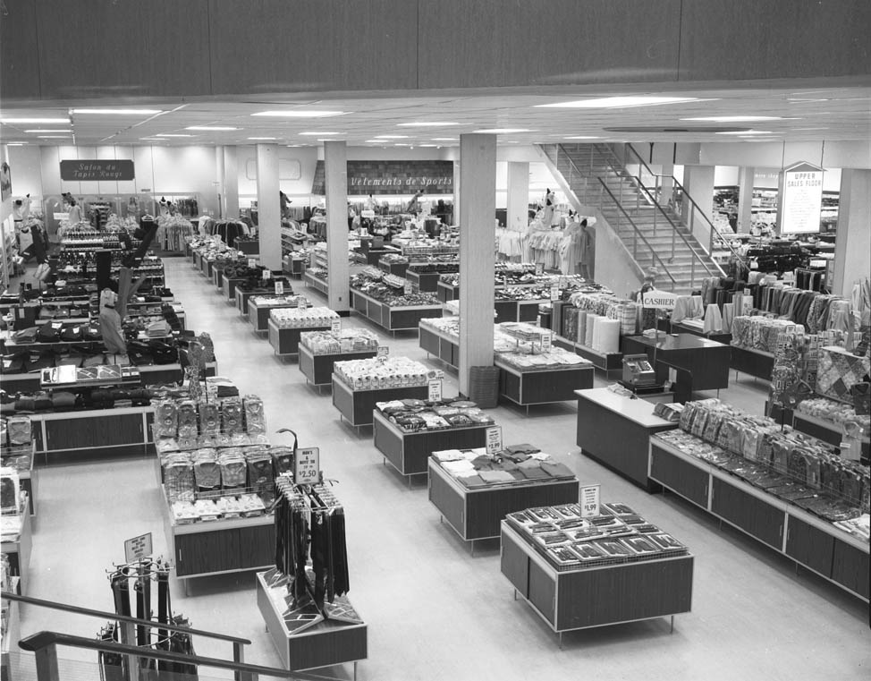 FW Woolworth Store interior