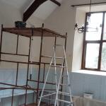 Internal scaffolding platform