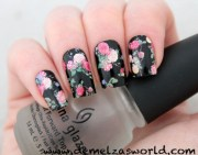 cute flower nail patches demelza's