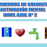 Serie 2 azul: Cuaderno en pdf de ejercicios de estimulación cognitiva. Deterioro leve-moderado.