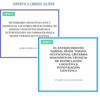 Oferta 2 libros: Deterioro cognitivo leve y demencia. El envejecimiento normal