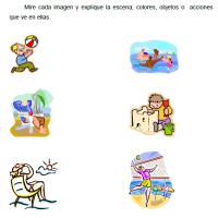 Cuaderno de ejercicios de Verano para personas con deterioro cognitivo leve-moderado