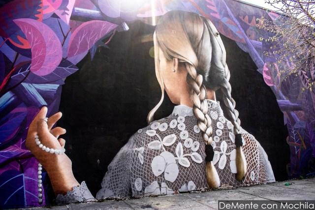 mural en Bushwick