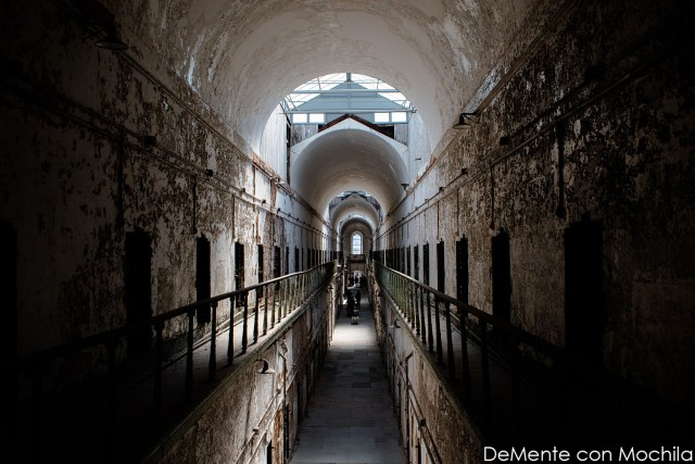 Bloque 7 de la Eastern State Penitentiary.