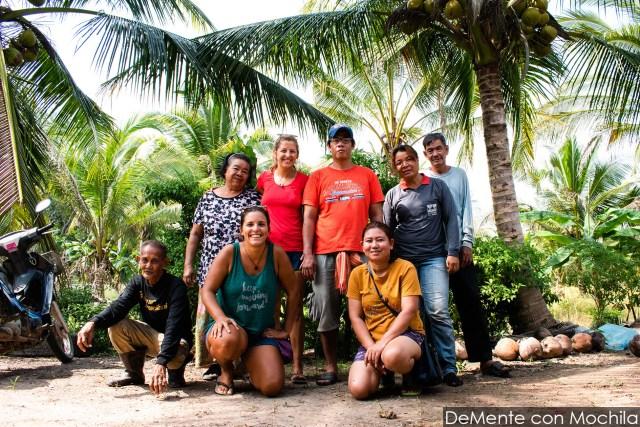 alojamiento espontáneo en Tailandia