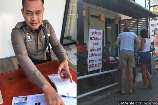 puesto policial chiang mai