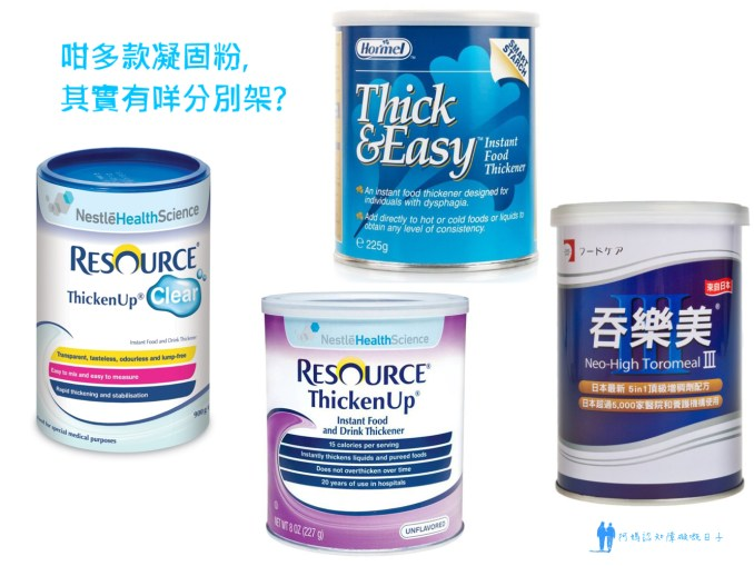 kinds of thickener