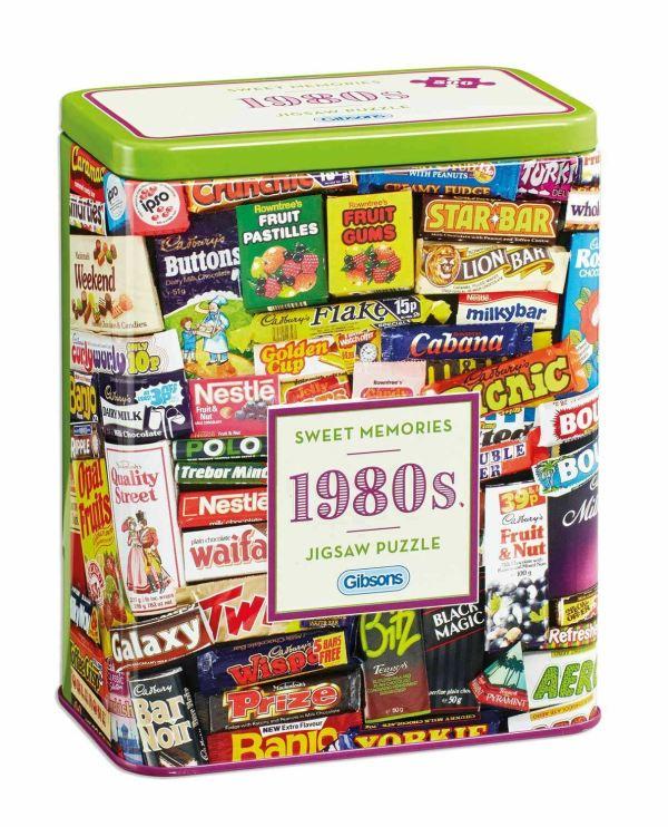 1980s Sweet Memories Jigsaw 500 pieces at www.dementiaworkshop.co.uk