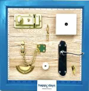 Activity Board Brass Ware & Handles www.dementiaworkshop.co.uk