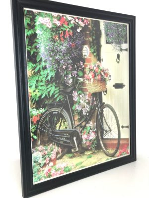Bicycle with Flowers www.dementiaworkshop.co.uk