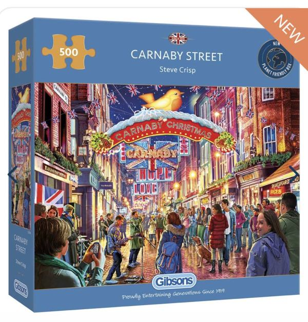Carnaby Street Jigsaw Gibsons at www.dementiaworkshop.co.uk