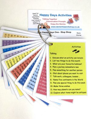 Conversation Cards Special Offer www.dementiaworkshop.co.uk