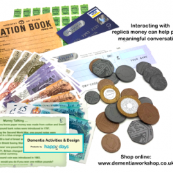 Fake Money pack at www.dementiaworkshop.co.uk