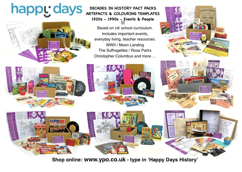 Happy Days History Resources for Schools www.dementiaworkshop.co.ik
