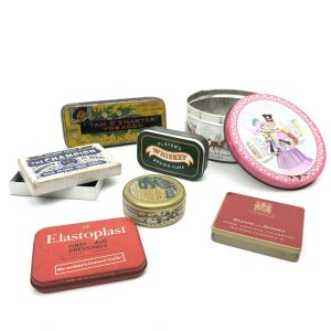 Vintage Tins for Display or Collector