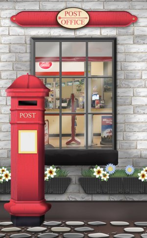 Mural: Post Office at www.dementiaworkshop.co.uk