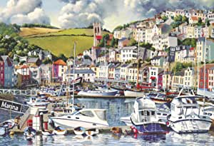 Brixham Marina by Gibsons Jigsaw Puzzle at www.dementiaworkshop.co.uk