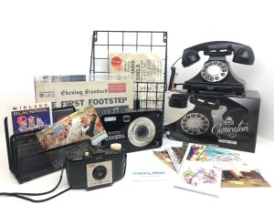 Retro Phone Display for Care Homes at www.dementiaworkshop.co.uk