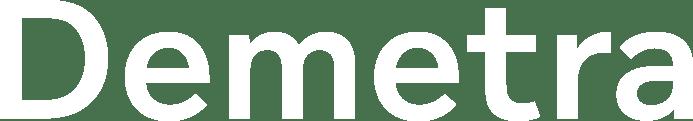 Demetra Logo White