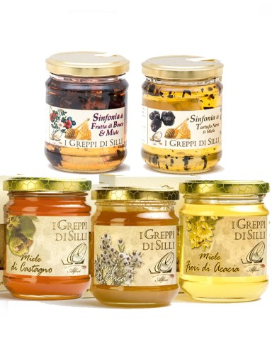 Demetra Bottega Five Honey Sampler Set Cinque Miele Degustazione