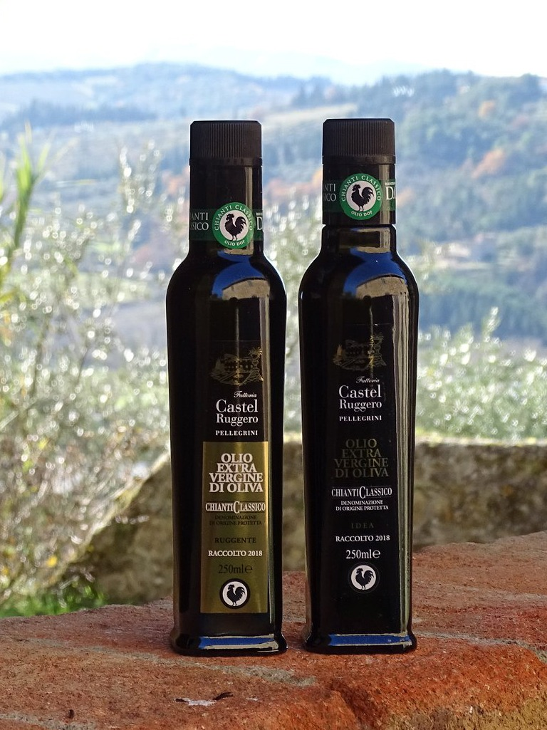 Demetra Bottega Ruggente Extra Virgin Olive Oil Castel Ruggero Pellegrini
