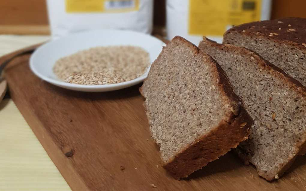 Home Baked Rye Bread with Monna Giovannella Rye Flour