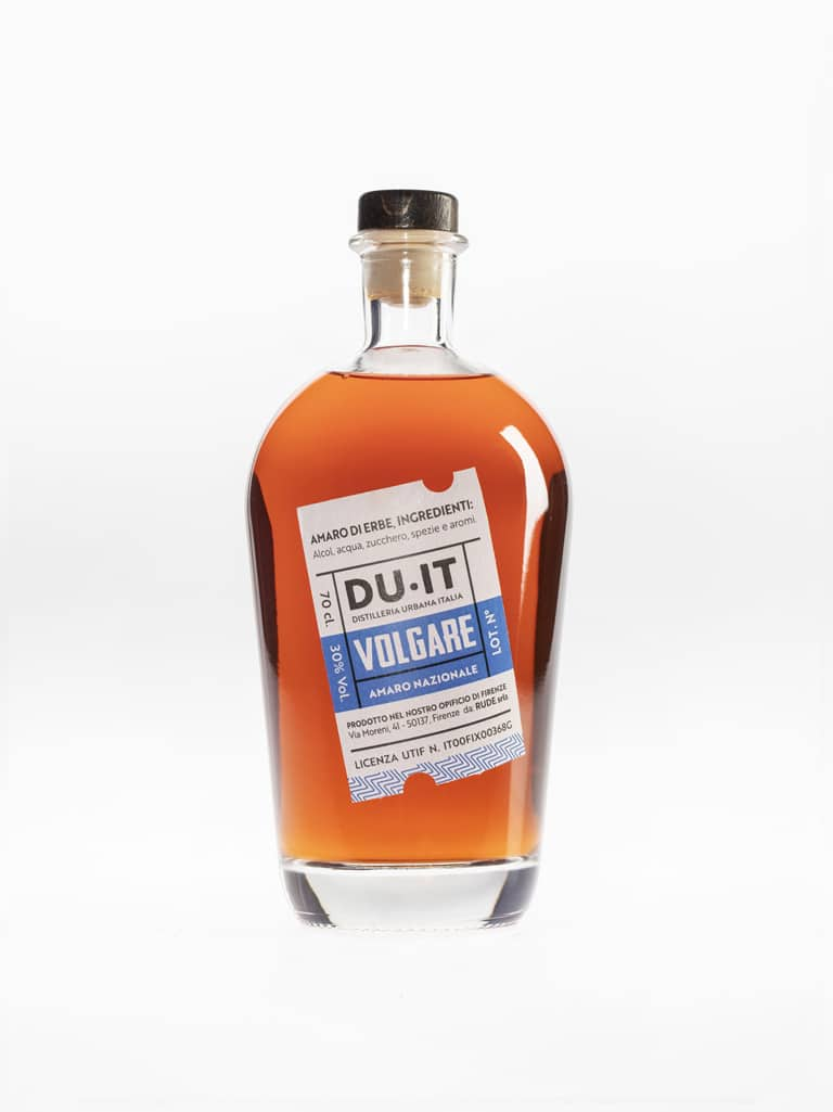 Distilleria Urbana Volgare Amaro Made in Florence