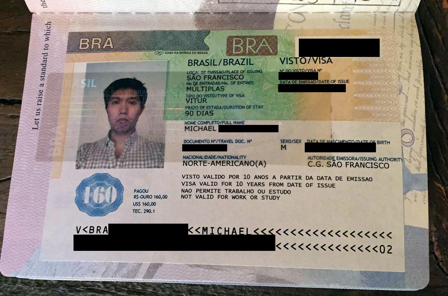 How to get a last minute passport renewal + Brazilian Visa