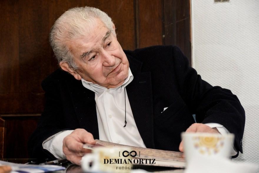 Día de la Poesía en la Universidad Complutense de Madrid con la participación del escritor leonés Antonio Gamoneda, por Demian Ortiz.