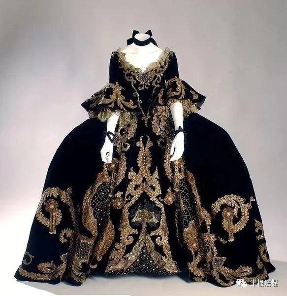 【法国宫廷女装】从巴洛克到洛可可再到新古典主义
