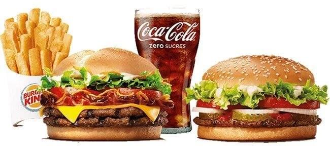 Burger King 第二个汉堡1欧