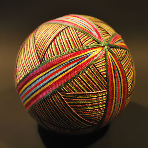 A 92Year Old Woman Embroided An Astounding Collection of Traditional Japanese Temari Balls