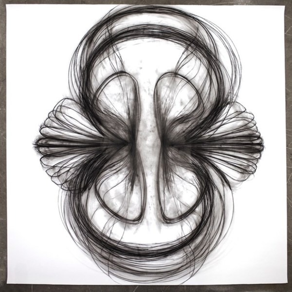 Heather Hansen Body Charcoal Drawing Art