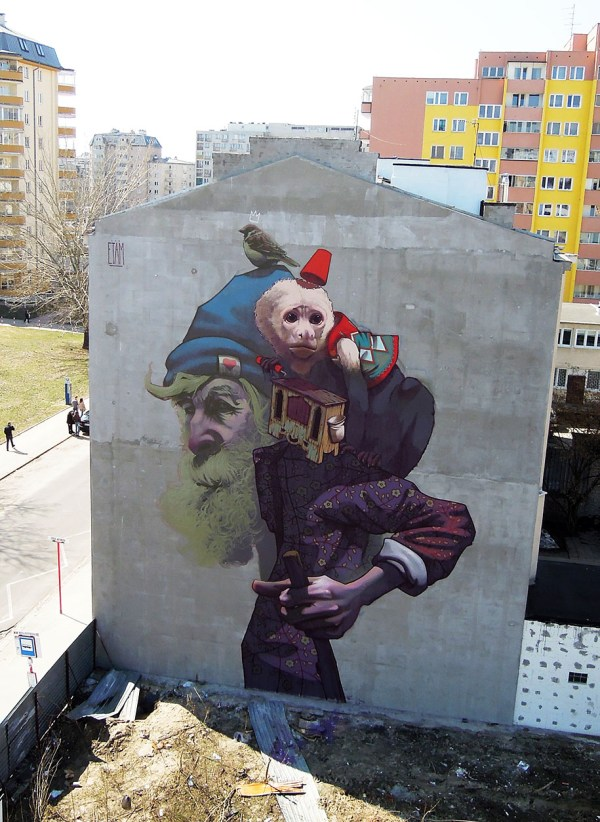 Etam Cru Brightens City Walls With Epic Colorful Street