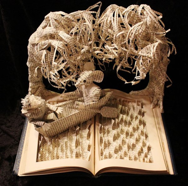 Stories Books Life In Paper Sculptures
