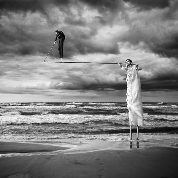 Black and White Surreal Photography