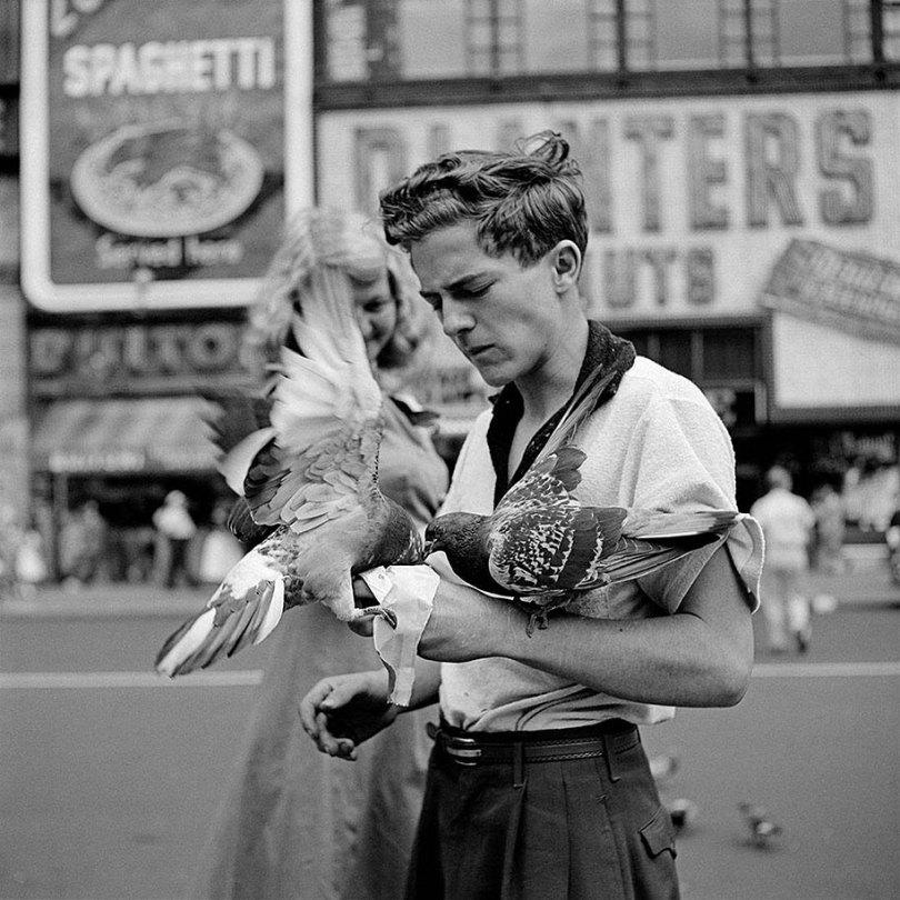 new york chicago street photography vivian maier 5 - Fotos perdidas de Vivian Maier do dia a dia americano nas décadas de 50 e 60